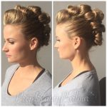 Faux Hawk Up-Do