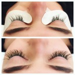 eyelash extension fill