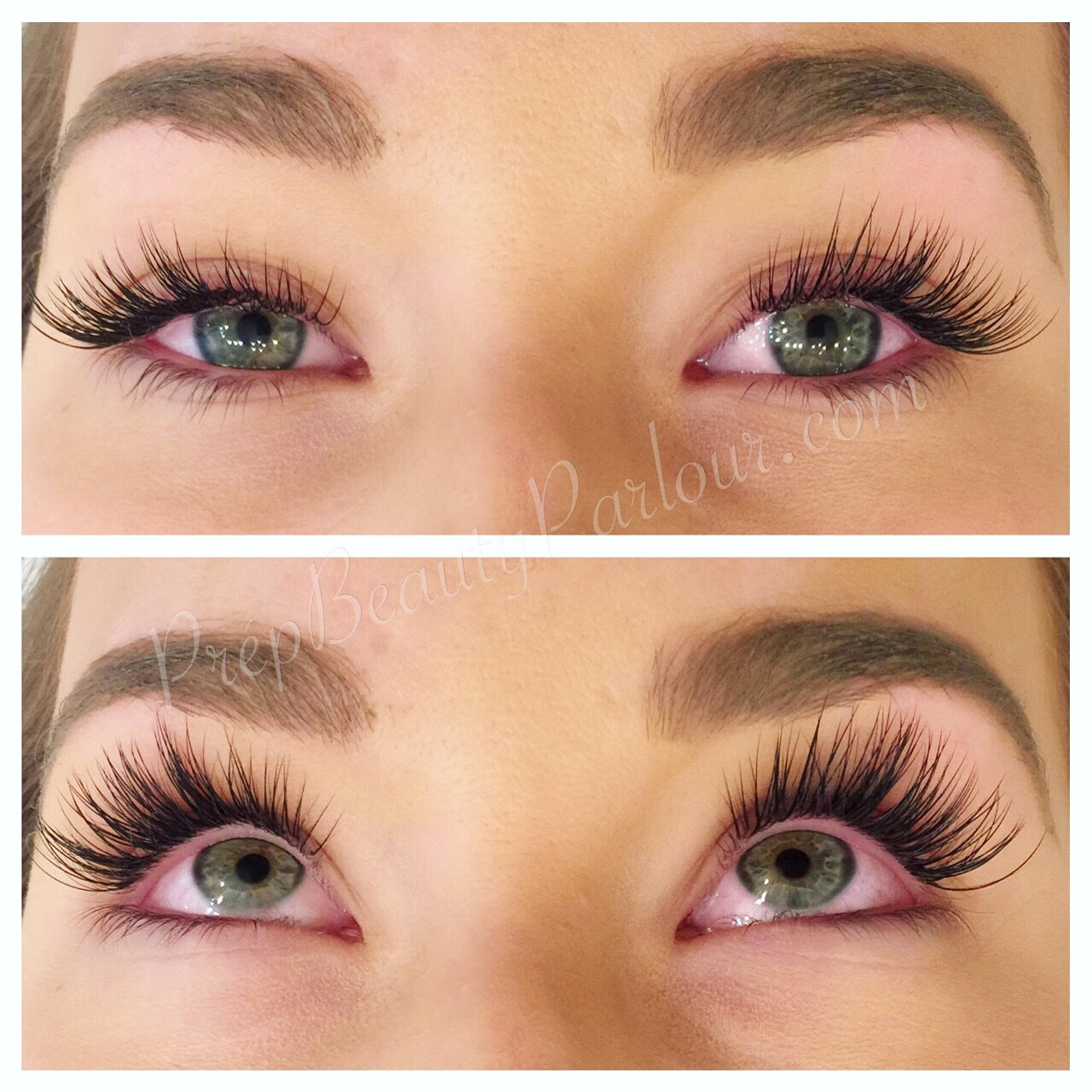 how to put on permanent eyelash extensions