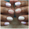 Short Unicorn Nail Gel Design Vancouver | Prép Beauty Parlour