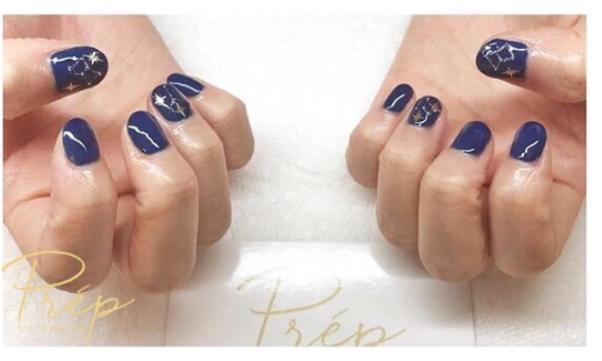 Short Nail Gel Design Vancouver | Prép Beauty Parlour