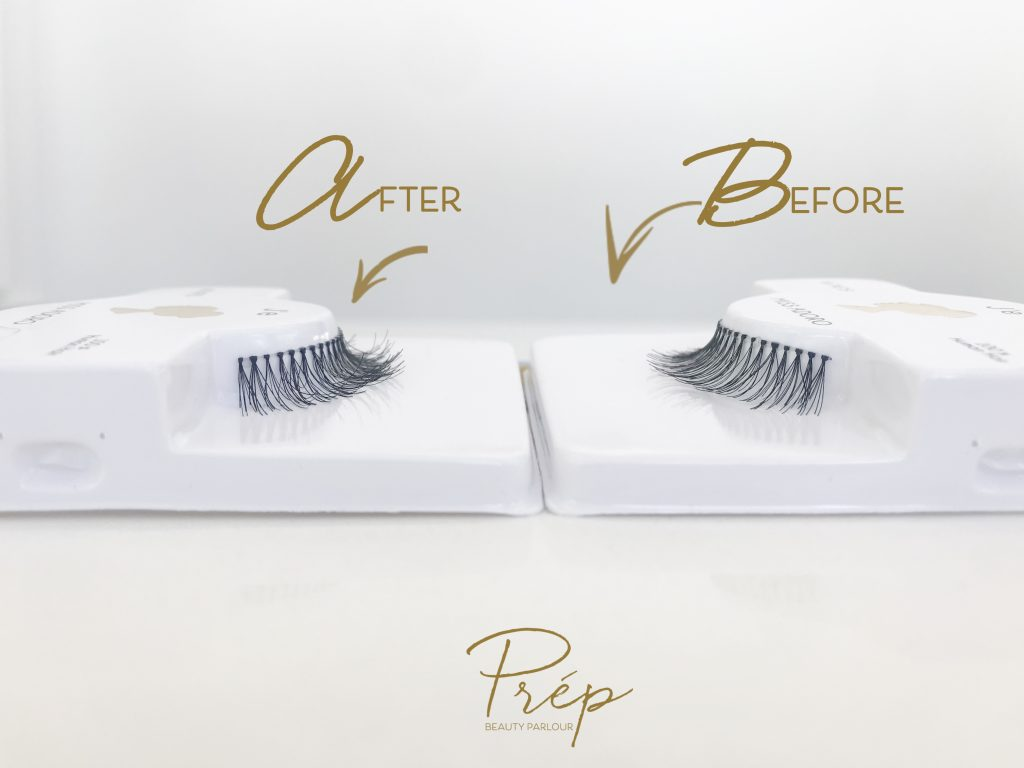 Makeup hack cheap lashes to mink | Prép Beauty Parlour