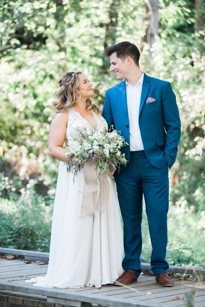 The Beautiful Vancouver Backyard Wedding | Prép Beauty Parlour