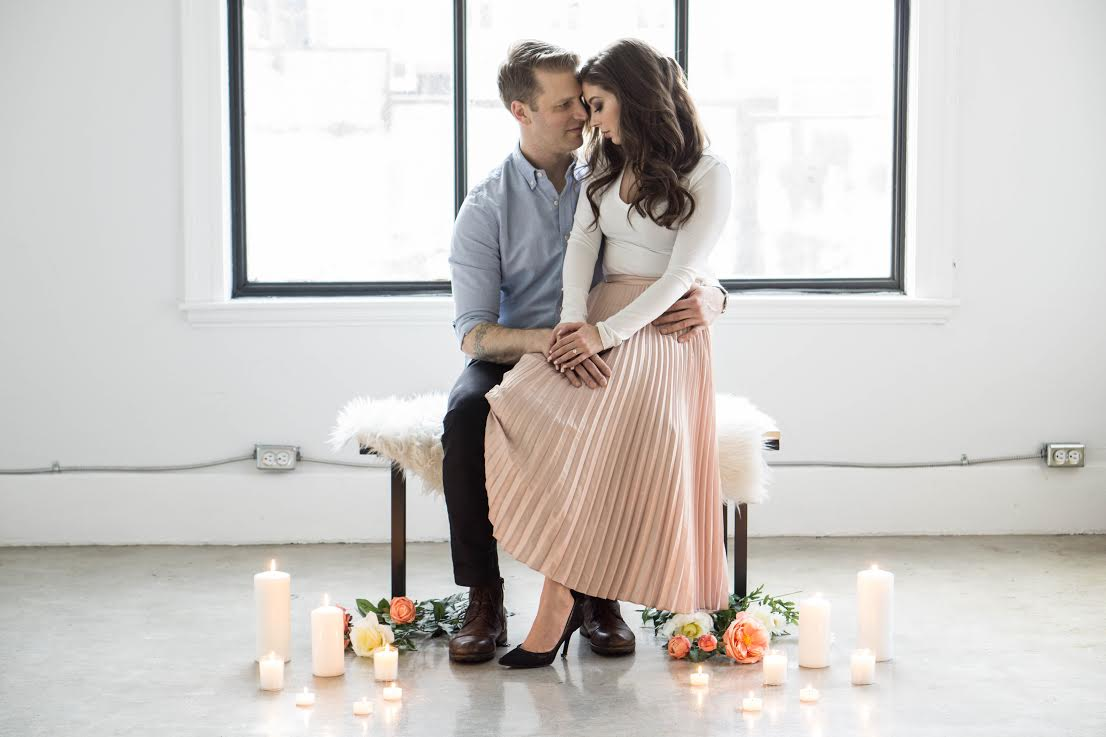 Spotlight: Engagement Photoshoot with Janelle Saccucci & @PhotosbyLees | Prép Beauty Parlour