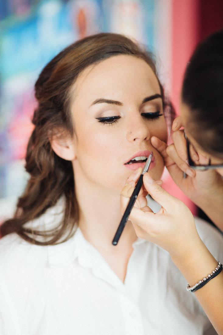 vancouver bridal hair & makeup: dreams come true with prép beauty